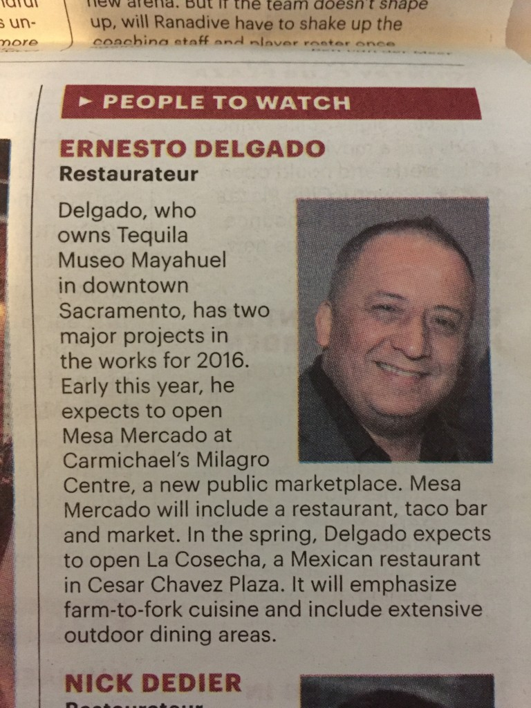Mayahuel ernesto newspaper mention