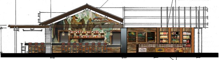 Mayahuel La Cosecha restaurant plans